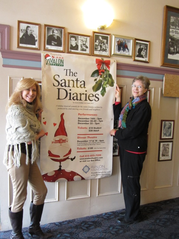 poster with Laura Ambler and Mala Burt