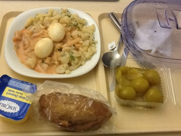 french hospital food