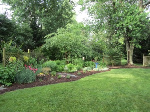 backyard garden tour day