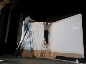 set build at Faribault