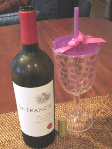 wine sippy cup