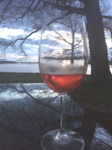 wine glass for blog