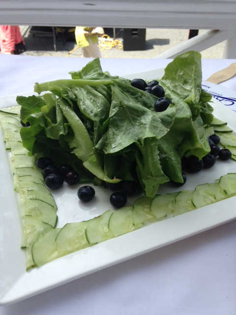 Plein air salad