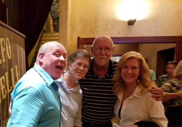 Brent, Mala, Roger, Laura - 7-8-18